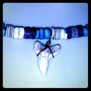 🦈 Shark Tooth Seashell Boho Necklace
